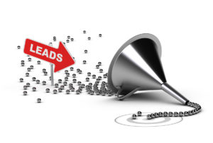 Learn how to funnel leads with content marketing.