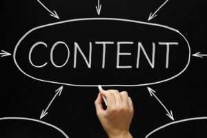 Increase your business with online content marketing.