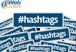 Don't work with social media writers who abuse hashtags.