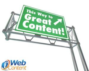 Ask your website content writer to help you develop relationships.