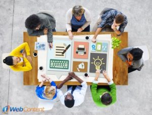 Collaborate together to develop excellent content strategies.