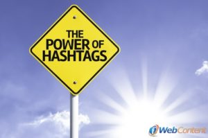 Do your social media writers use hashtags?