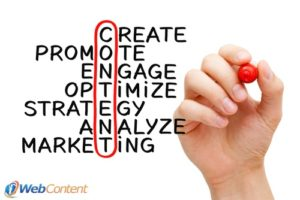 Talk to online content writers about your writing strategy.