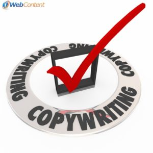 Advertising copywriting varies from content for a website.