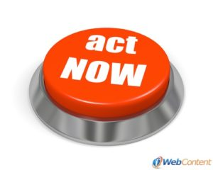 Include a call to action for the best website design.