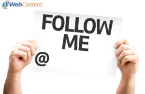 Attract followers with a social media content writer.