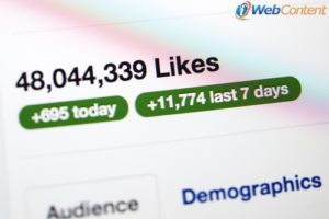 Reach a larger audience with a social media marketing strategy.