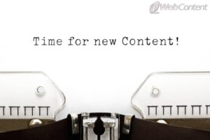 Don't put your new content on article directories.