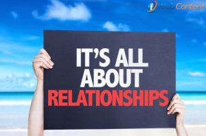 Develop relationships with your customers by using social media.