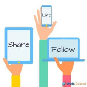 Attract followers with the help of a content writing service.
