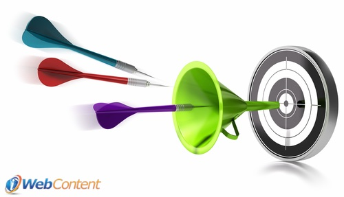 Use the inbound marketing funnel to reach the right people.