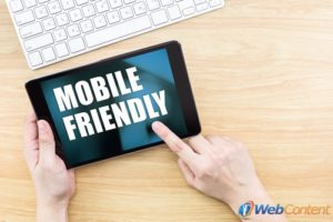 Make sure you are optimizing your website for mobile devices.