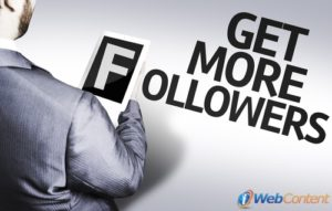 Bring in more followers with your social media campaign.
