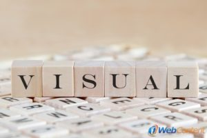 Implement visual content into Internet marketing strategies.