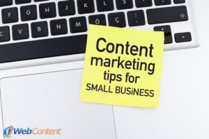 Get the competitive edge with content marketing for small business.