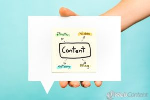 Create a variety of content with the help of experienced content marketers.