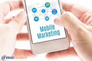 Today's market requires mobile marketing.