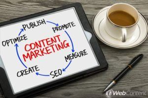 Implement the right kinds of content with the help of a website content writer.