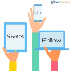 Build a Twitter following with social media content writers.