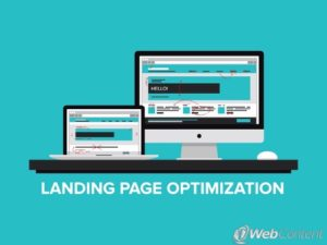 Get results by optimizing your landing pages.