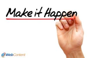 Make it happen with experienced content marketers.