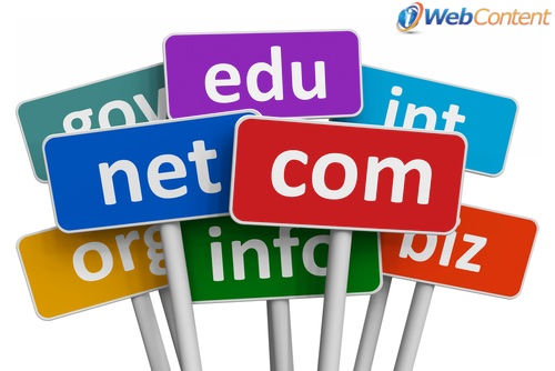 Consider the extension when choosing the right domain name for your blog.