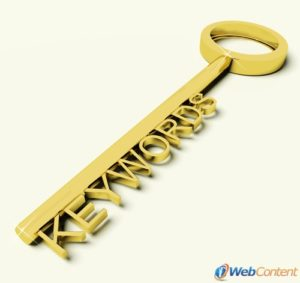 Choose the right keywords with the help of website content writers.
