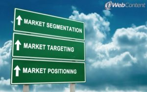 Make sure you're using a market segmentation strategy.