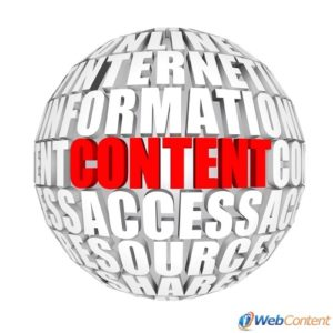 Achieve success online with a web page content writer.
