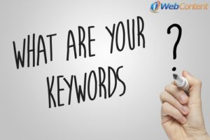 Get your keywords evaluated by content writing services.