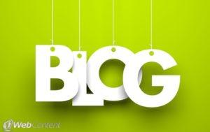 Keeping your website relevant require regular blogging.