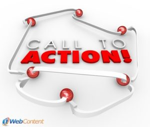 Include a call-to-action for a successful homepage.