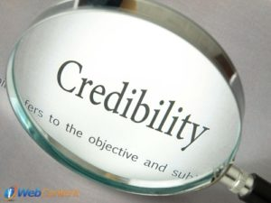 Find out how to build your credibility.