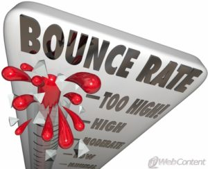 Keep people on your site longer when you decrease your blog's bounce rate.