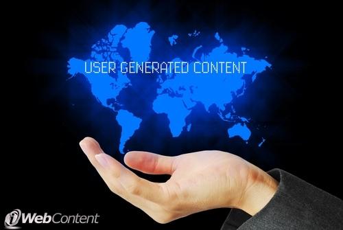 Online marketing requires user generated content.