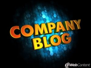 Include a blog in your website for moving companies.