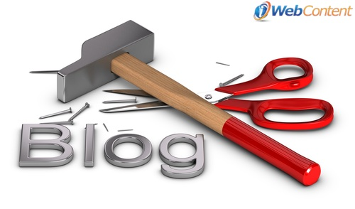 Talk to your content writing services about creating a blog.