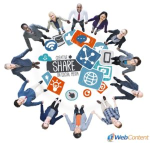 Use social media to your advantage with the help of website content writing services.