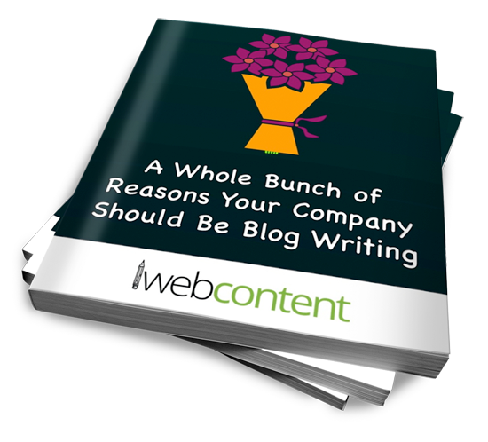 A Whole Bunch of Reasons Your Company Should Be Blog Writing