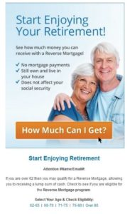 Retirement ad