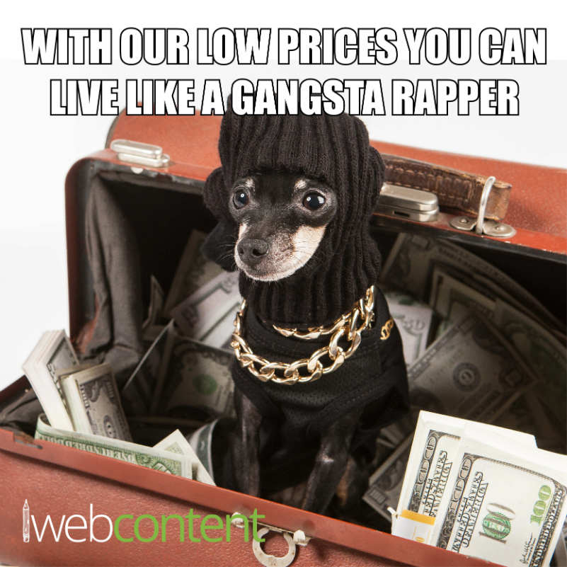 Gangsta Rapper Meme