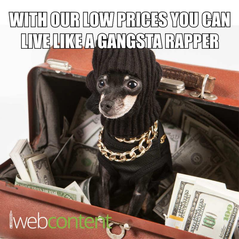 Gangsta Rapper Meme