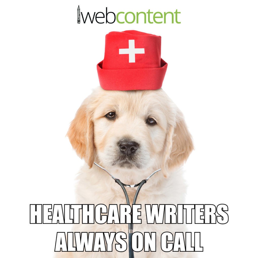 Healthcare Writers - Nurse Dog