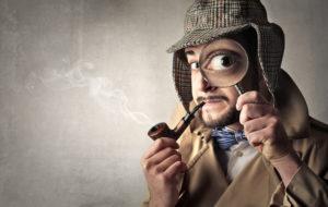 content writer detective