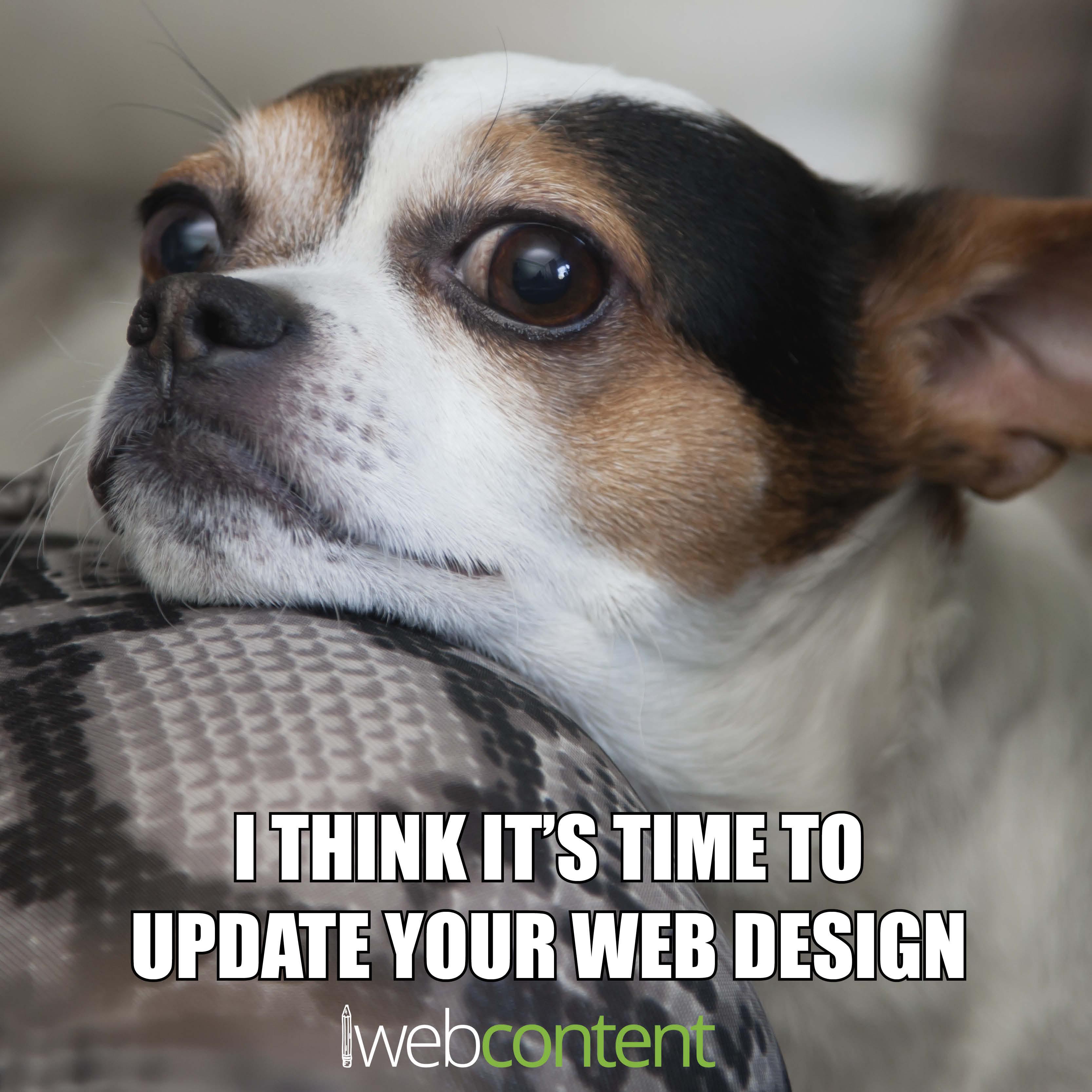 Time for a Website Design Update