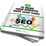 thumbnail image of iwebcontent's eBook on SEO website ranking