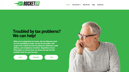 Rocket Tax Relief