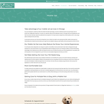 iwc-veterinary-website-sample