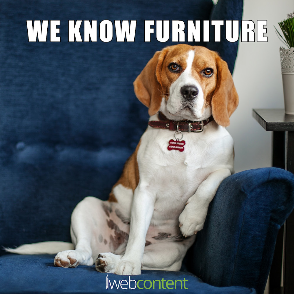Furniture Content Writing