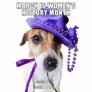 iwc 21 meme - womens history month